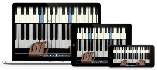 klavier lernen mit allen geraeten